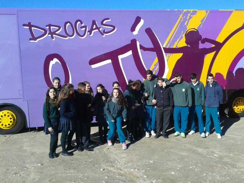 """""""Drogas o tú""""  (Educación Secundaria) – (17.02.2015)"""