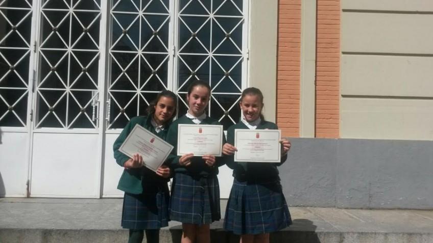 Entrega de diplomas del Concurso de Narración-Recitado de Poesía (8/04/15)