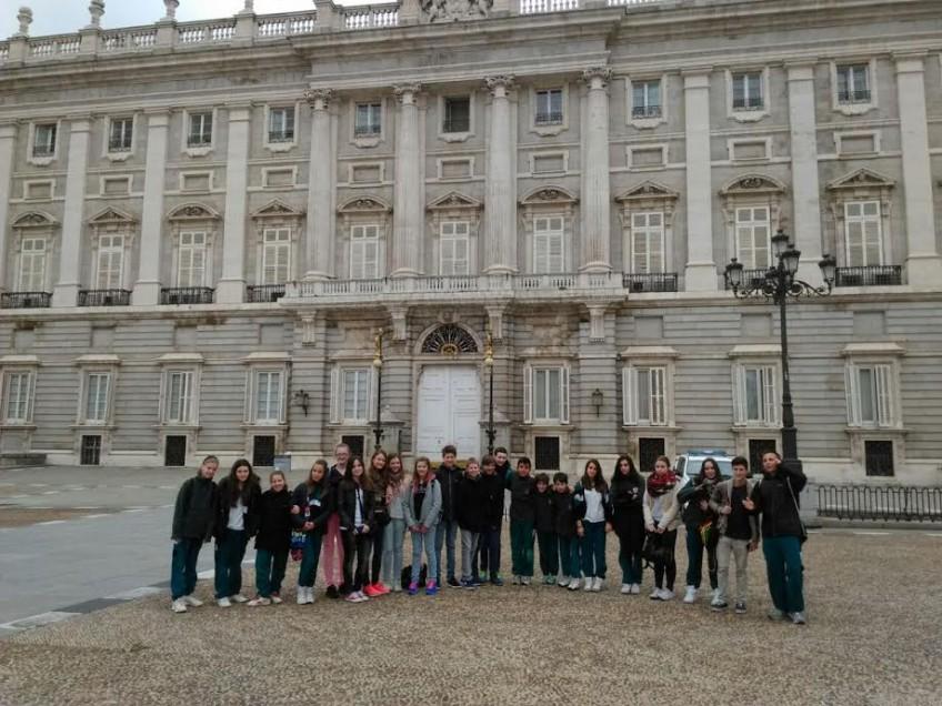 Visita Madrid centro *Alemanes* 6º Prim y E.S.O (16/04/15)