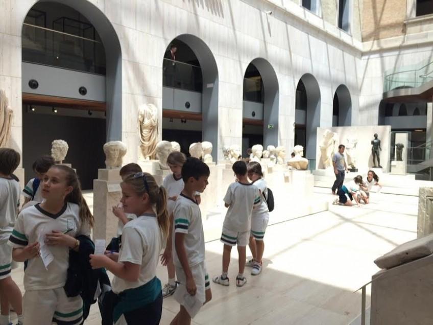 Visita Museo Arqueológico 5º y 6º Primaria (19/05/15)