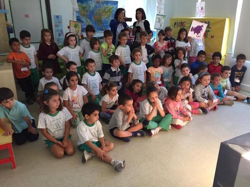 Nos visita el Colegio Los Jarales (Infantil) 16.06.2015