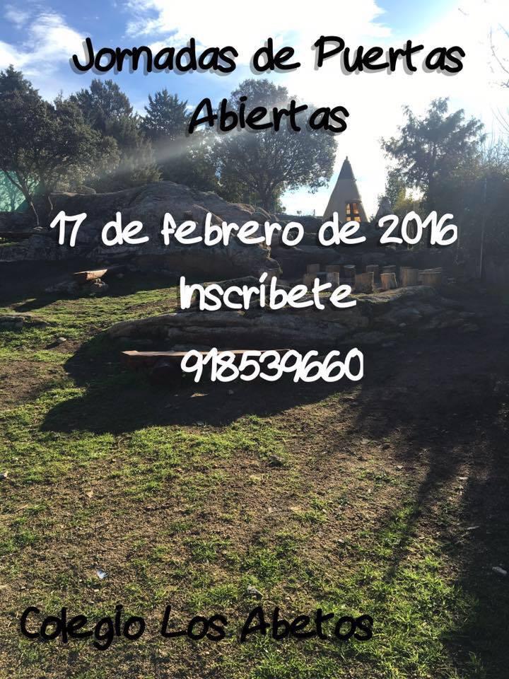 II Jornadas de Puertas Abiertas (17.02.2016)