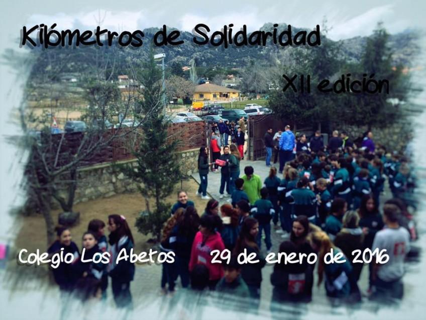 XII edición de Kilómetros de Solidaridad (29.01.2016)
